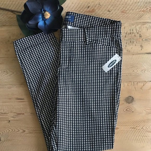 4037a0aab71190 Old Navy Pants | Midrise Pixie Pant Houndstooth | Poshmark
